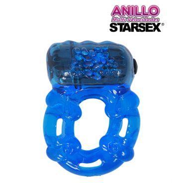 Anillo Vibrador Reutilizable Starsex