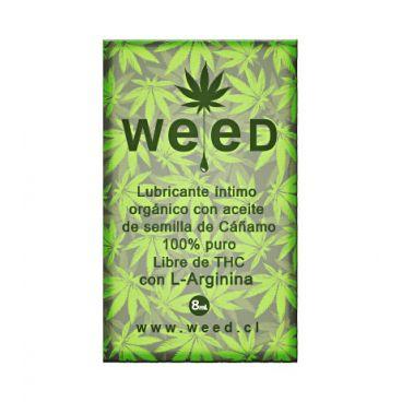 Sachet Lubricante Íntimo Weed 8ml