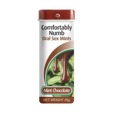 Pastilla Menta Chocolate Para Sexo Oral