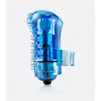 Dedo Vibrador Reutilizable Azul