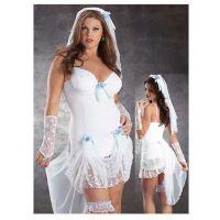 Disfraz novia con velo