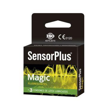 Preservativos SensorPlus Fluorescente