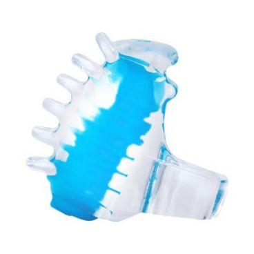 Dedo Vibrador Travieso Azul