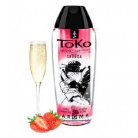 Lubricante Toko Champagne Frutilla Shunga