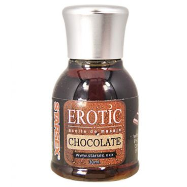 Aceite de Masaje Starsex 30 ml Chocolate Efecto Calor