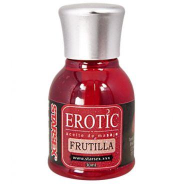 Aceite de Masaje Erotic Frutilla 30ml