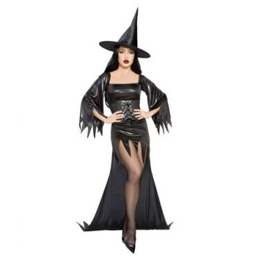 Disfraz erotico de bruja malvada